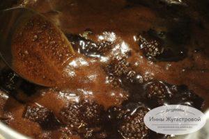 Помадка из какао, воды и сахара