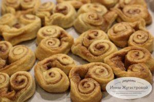 Домашнее творожное печенье сердечки