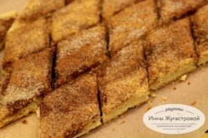 Еврейское традиционное печенье земелах