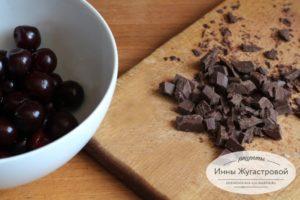 Нарезать шоколад
