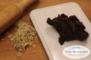 Шоколадная масса для приготовления конфет