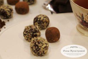 Десертные конфеты из Савоярди