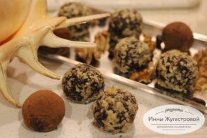 Десерт на скорую руку, конфеты из печенья Савоярди