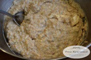 Тесто для яблочных вафель