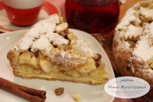 Штайрский австрийский яблочный пирог