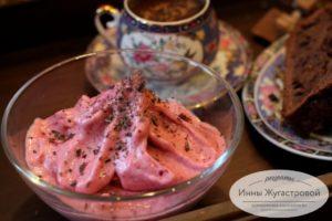 Веганское вишневое мороженое (сорбет)