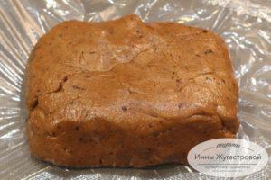 Кофейное тесто для песочного печенья