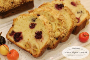 Черешневый кекс, вкусный и простой