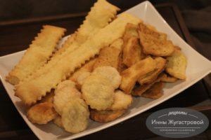Печенье на пивном тесте со сметаной