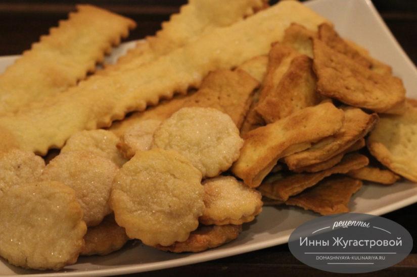 Сладкое, несладкое и соленое печенье-пятиминутка на пиве по простому рецепту