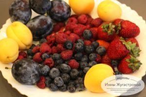 Фруктово-ягодное ассорти для начинки пирога