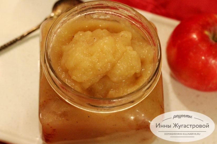 Нежное яблочное пюре для десертов, детского питания и консервирования