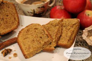 Рождественский американский яблочный хлеб