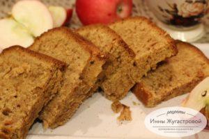 Apple bread, яблочный кекс