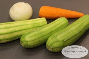 Очистить овощт