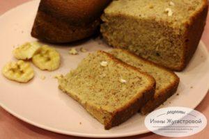 Банановый хлеб (кекс)