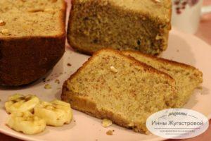 Американский банановый хлеб