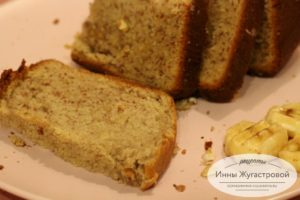 Американский банановый хлеб (кекс)