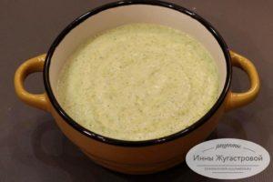 Сливочный крем-суп из брокколи