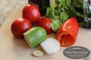 Овощи для острого смузи