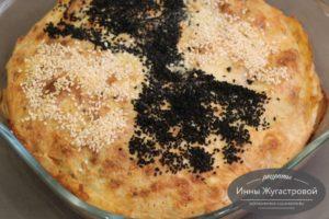 Закусочный пирог из лаваша