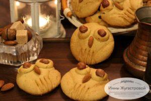 Медовое печенье (пряники) Совы
