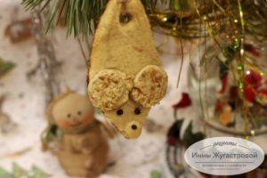 Имбирное песочное печенье Мышата