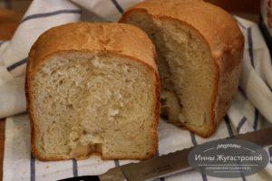 Хлеб с цельнозерновой мукой и кунжутным маслом