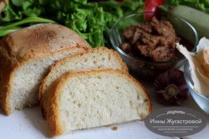 Хлеб на кунжутном масле