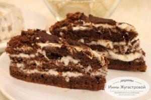 Шоколадный торт Черный Принц