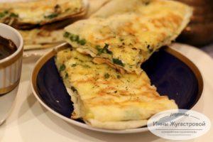 Хачапури на сковороде лаваша
