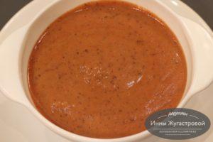 Суп-пюре фасолевый