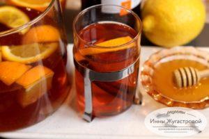 Чай со специями и цитрусовыми