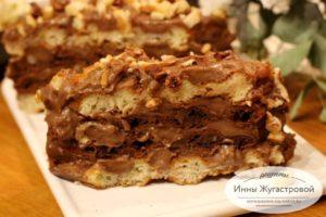 Торт из мягких вафель в мультипекаре