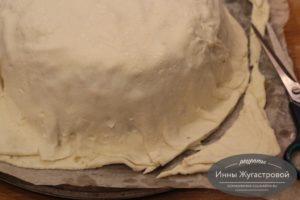 Накрыть пирог