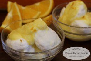 Воздушный десерт Снежки