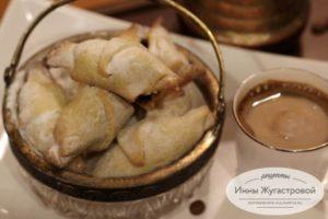 Ореховые трубочки с сухофруктами