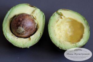 Разрезать авокадо