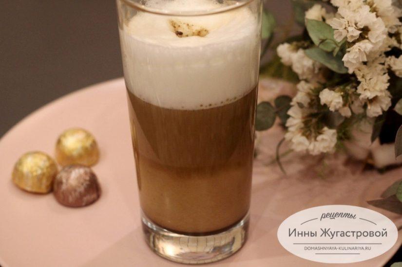 Кофе латте дома без кофемашины с помощью френч-пресса