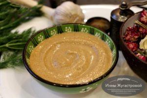 Сезамовая паста, сезамовый соус