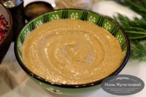Тхина, кунжутный соус