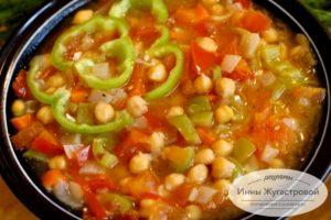 Испанский суп Гарбанзо