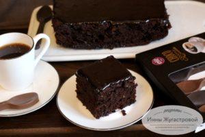 Шоколадный цукини-кекс