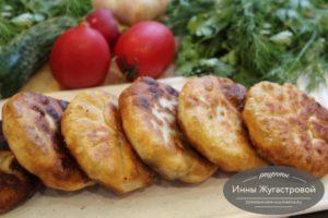 Пирожки с мясом (хычины)