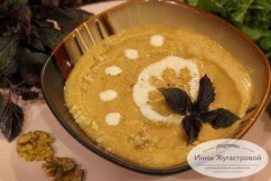 Баклажанный крем-суп