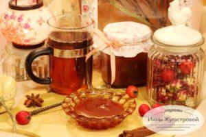 Осенний яблочно-сливовый конфитюр