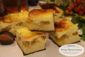 Творожный сырник в духовке