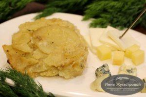 Картофель буланжер в хлебопечке