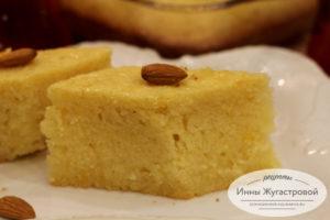 Турецкий десерт Ревани