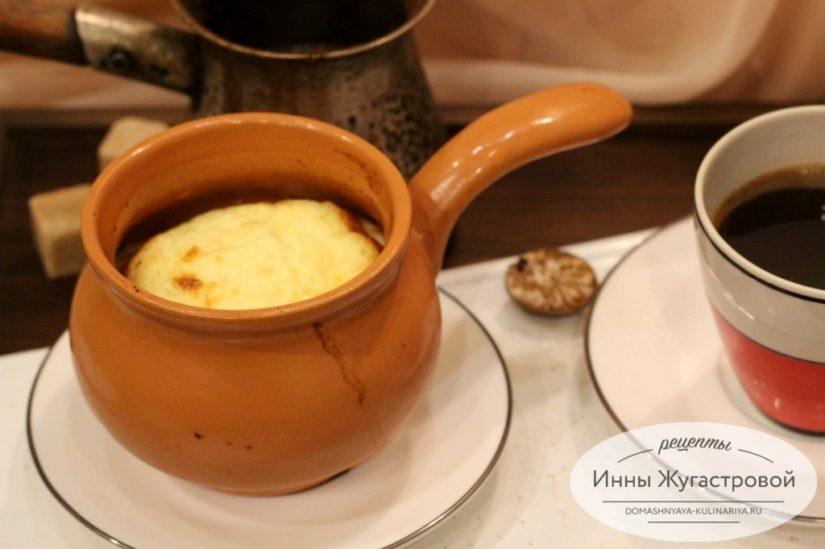 Сырное суфле в духовке и в СВЧ, быстрая эффектная горячая закуска